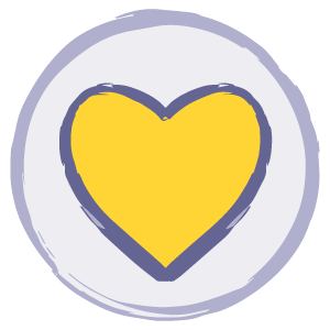 Emotional support icon