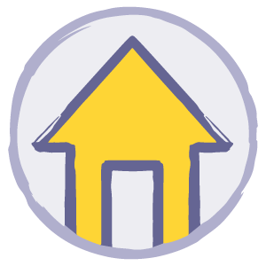 Homes and support icon