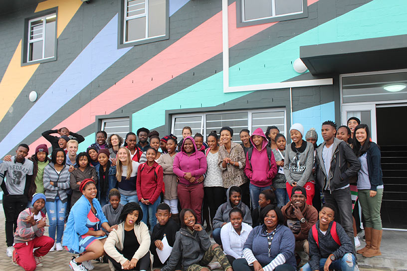 Group photo at Sozo Educentre